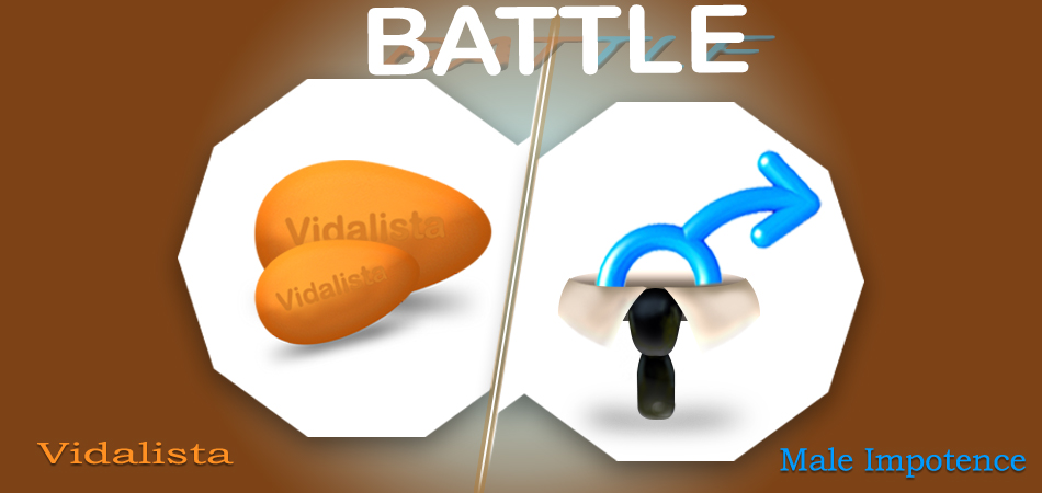 Battle Male Impotence with Vidalista Tablets